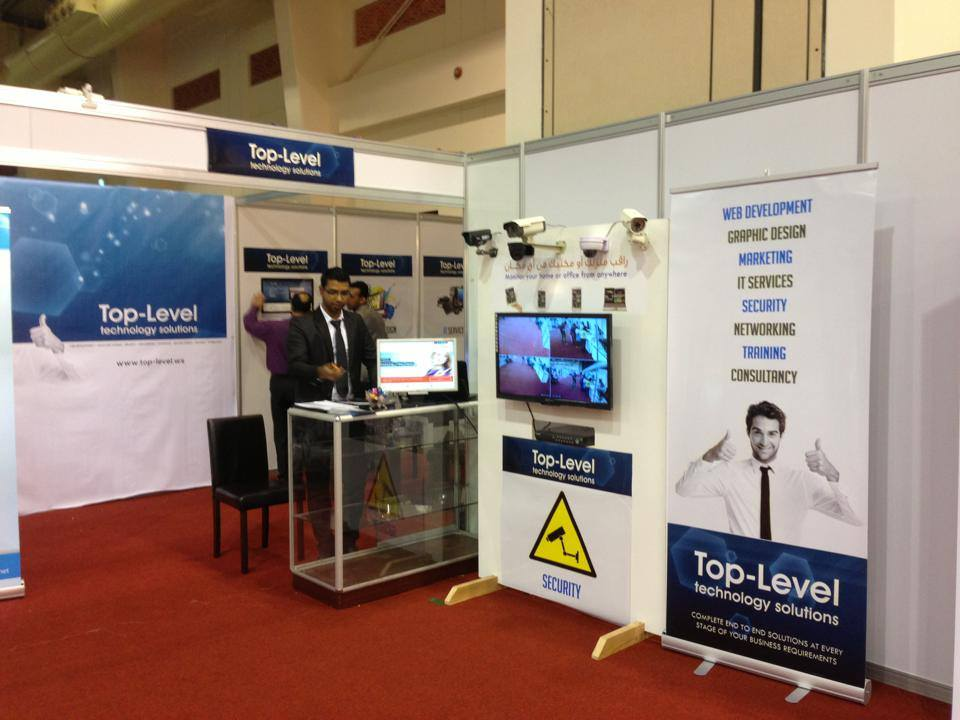 Top-Level exhibit its services at the Invest in Bahrain.