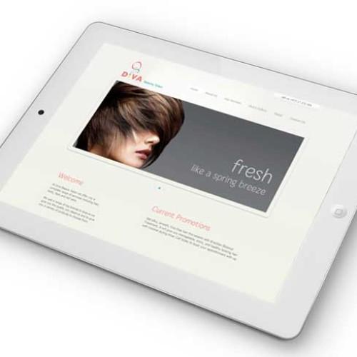 Diva Salon Website