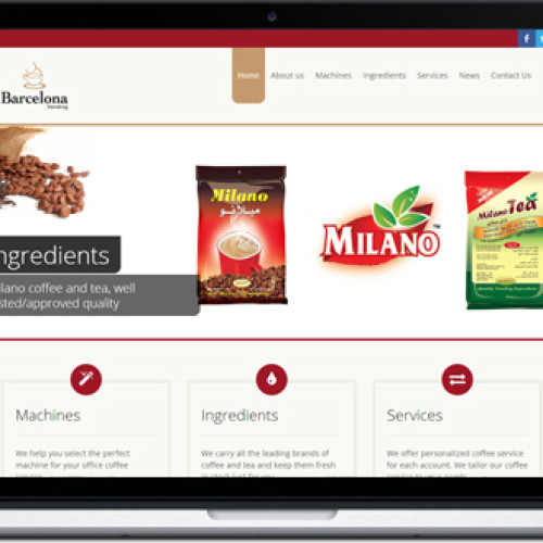 Barcelona Vending Website